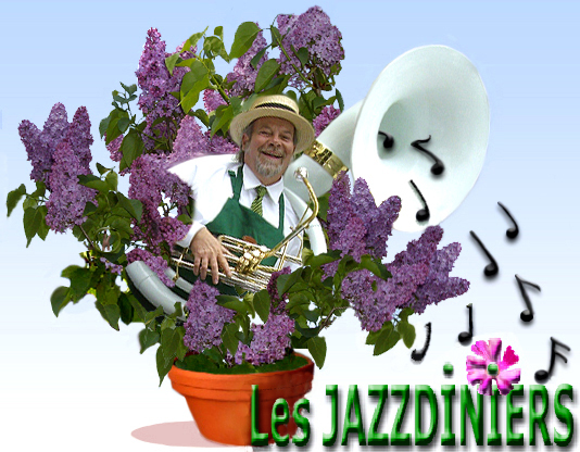 Les Jazzdiniers , animation musicale