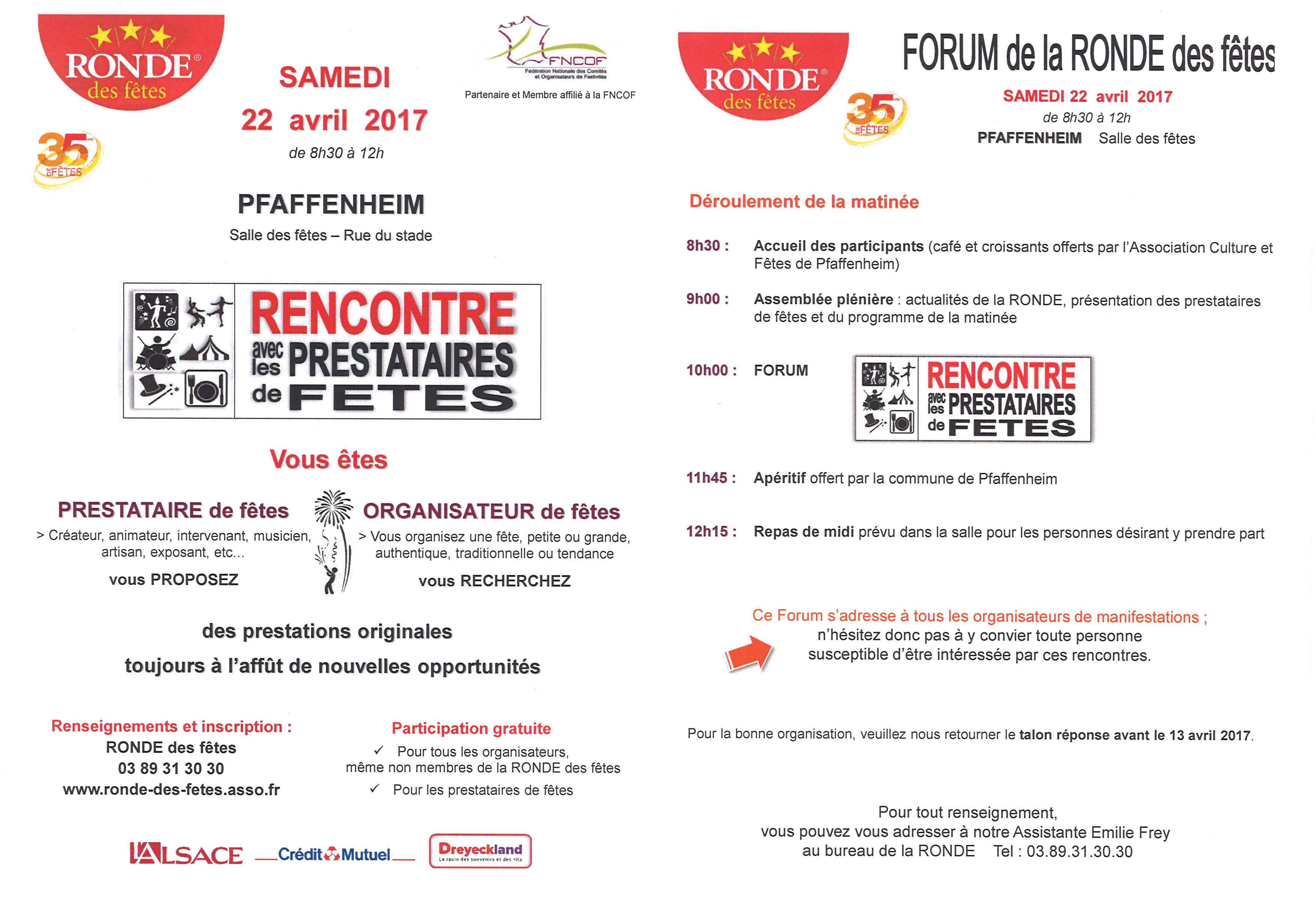 rencontre ronde forum